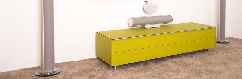 Möbel mit Soundintegration