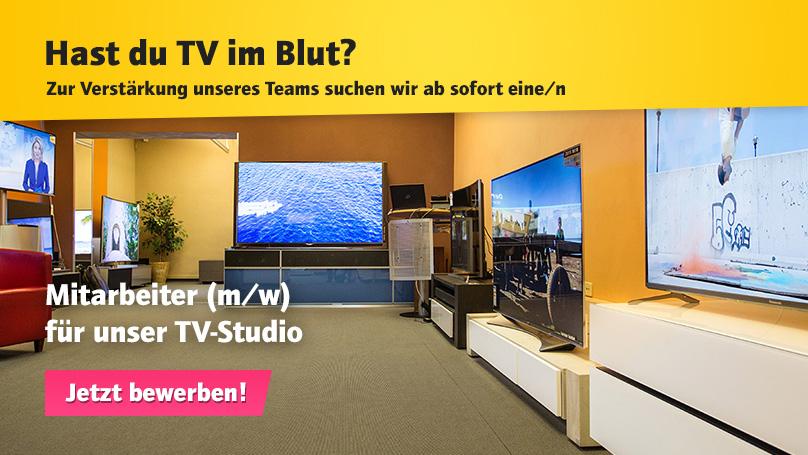 Wir suchen Mitarbeiter*innen für unser TV-Studio – Bewerben Sie sich jetzt