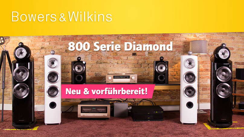 Bowers & Wilkins 800 Serie Diamond