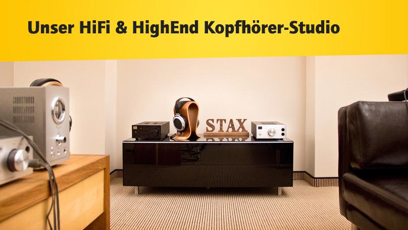 HiFi im Hinterhof Kopfhörer-Studio