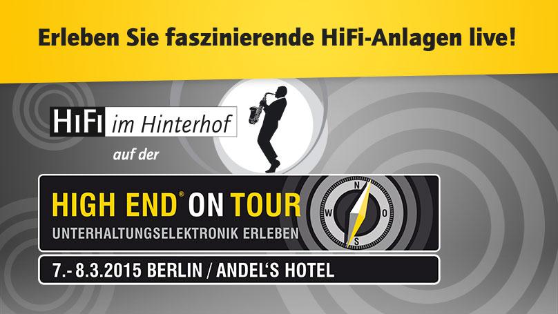 HiFi im Hinterhof auf der High End on Tour in Berlin