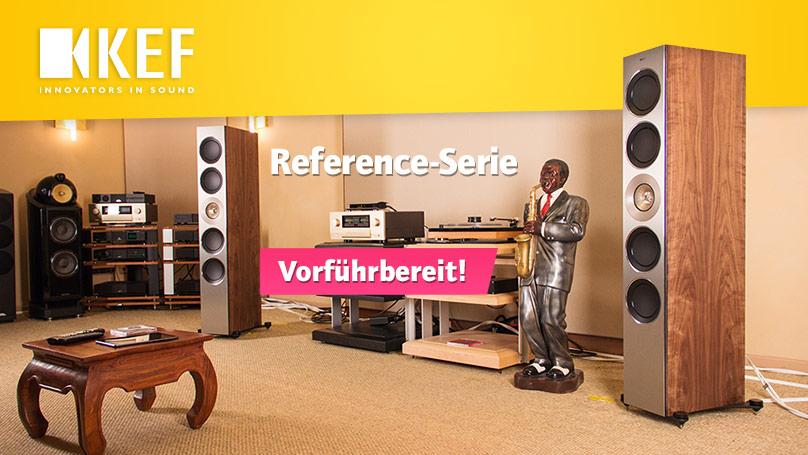 KEF Reference-Serie - vorführbereit bei uns!