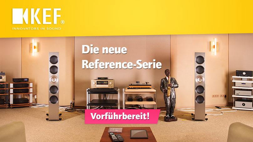 Die neue KEF Reference-Serie - jetzt vorführbereit bei HiFi im Hinterhof