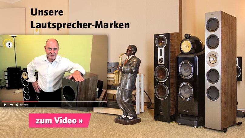 Jochen stellt unsere Lautsprecher-Kernmarken vor.