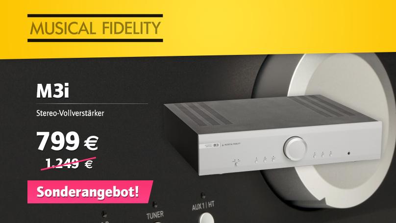 Musical Fidelity M3i Vollverstärker