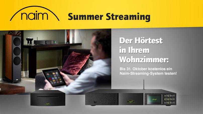Naim Summer Streaming