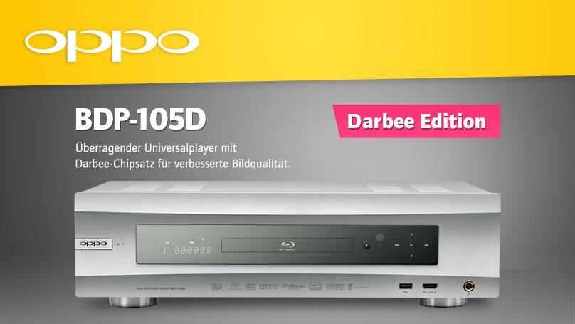 Oppo BDP105D Universalplayer