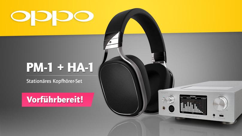 Oppo PM-1 + HA-1 stationäres Kopfhörer-Set
