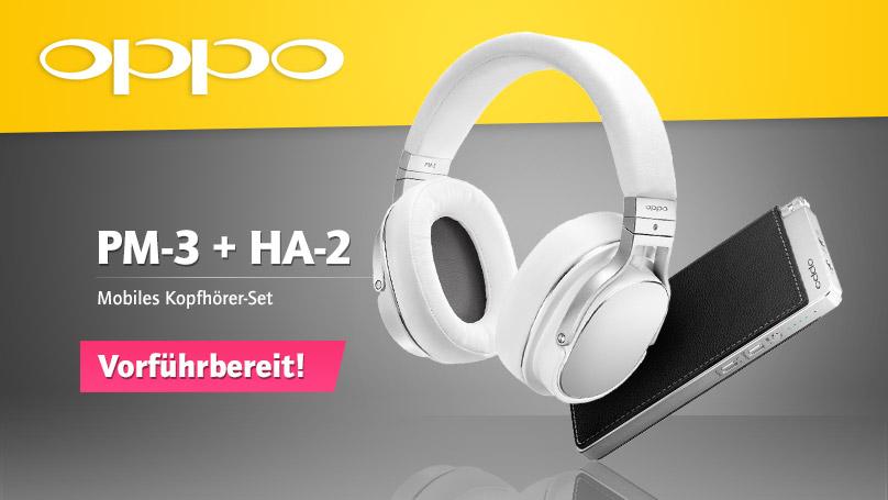Oppo PM-3 + HA-2 mobiles Kopfhörer-Set