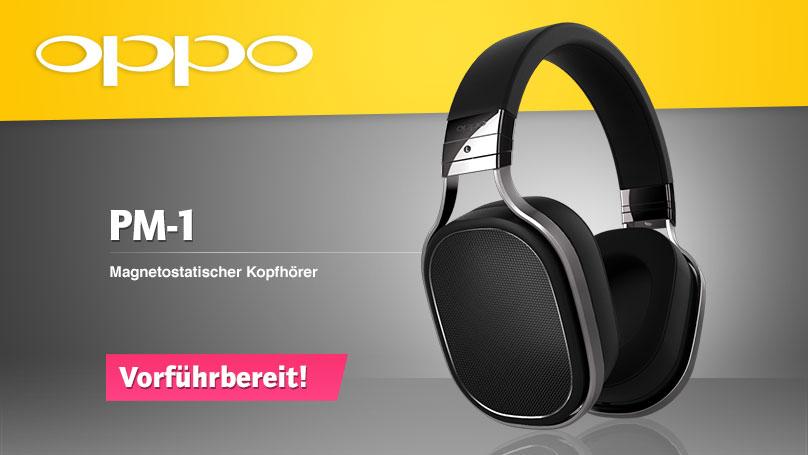 Oppo PM-1 - Der neue magnetostatische Kopfhörer
