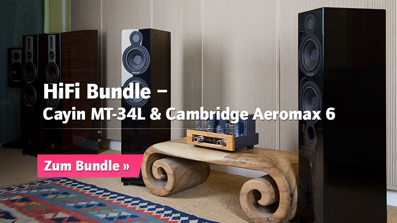 HiFi Bundle Cayin MT-34L