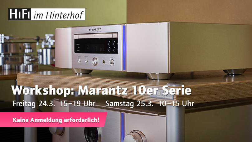 Workshop Marantz 10er Serie