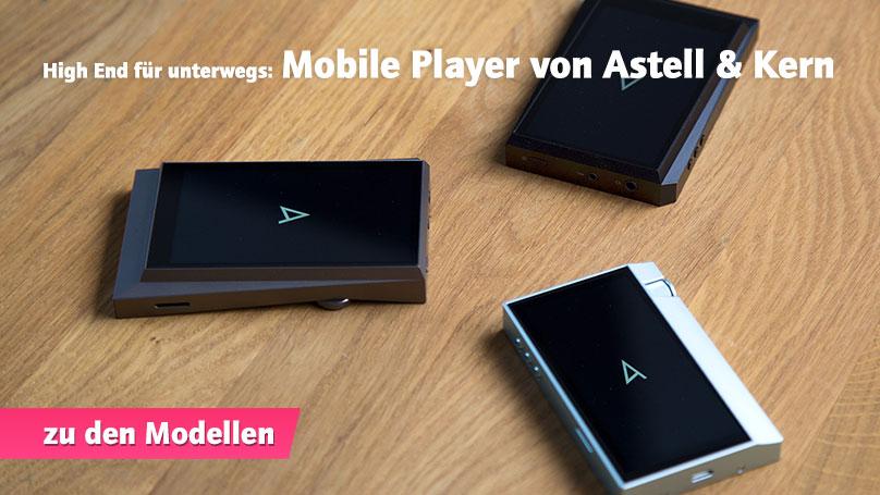 Mobile Player von Astell und Kern