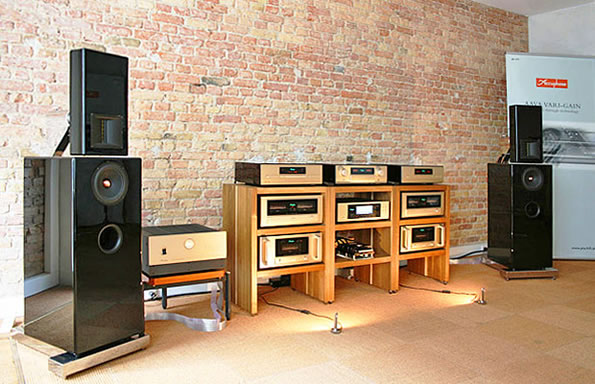 Ascendo System M an Accuphase Referenz-Kette