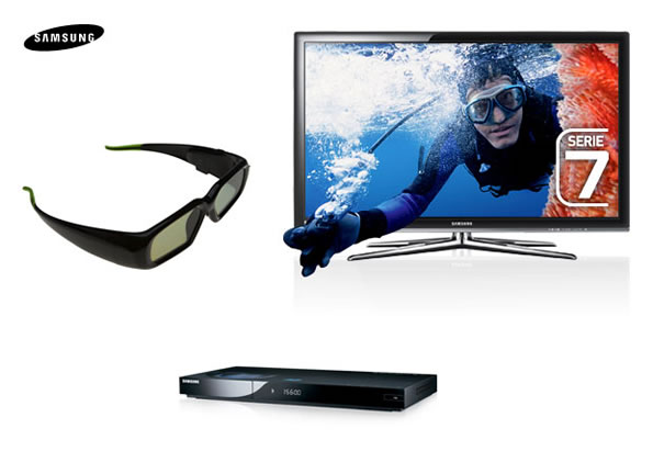 3D-TV Samsung