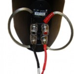 KEF Bi-Wiring Terminal angeschlossen