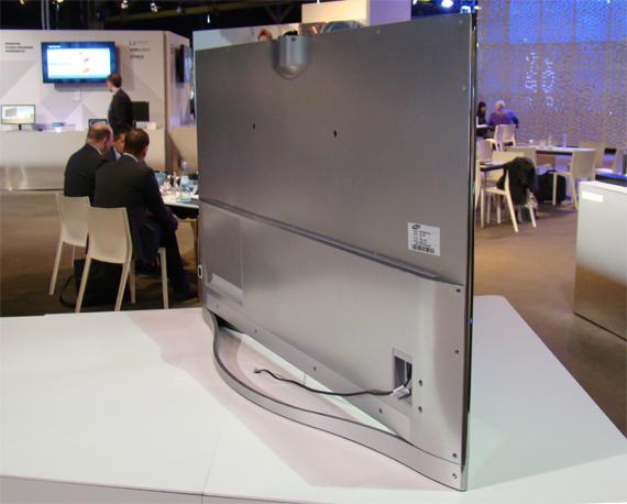 Samsung UE 55F8590 Rückseite