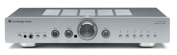 Cambridge Audio Azur 351A Frontansicht