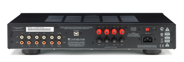 Cambridge Audio Azur 351A Rückansicht