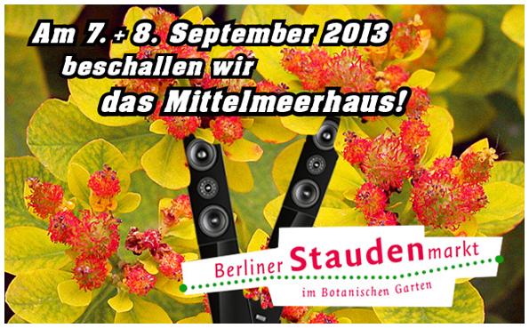 Staudenmarkt Berlin-Dahlem, Herbst 2013