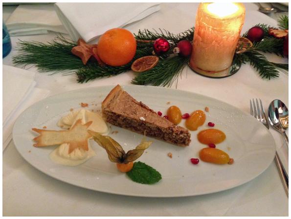 Eines der Desserts: Farbenspiel und Gaumenfreude harmonisch vereint.