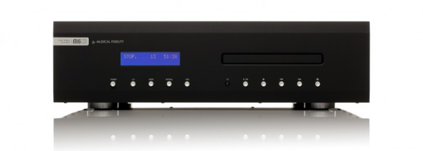 Der Musical Fidelity M6CD spielt in der oberen Liga der CD-Player