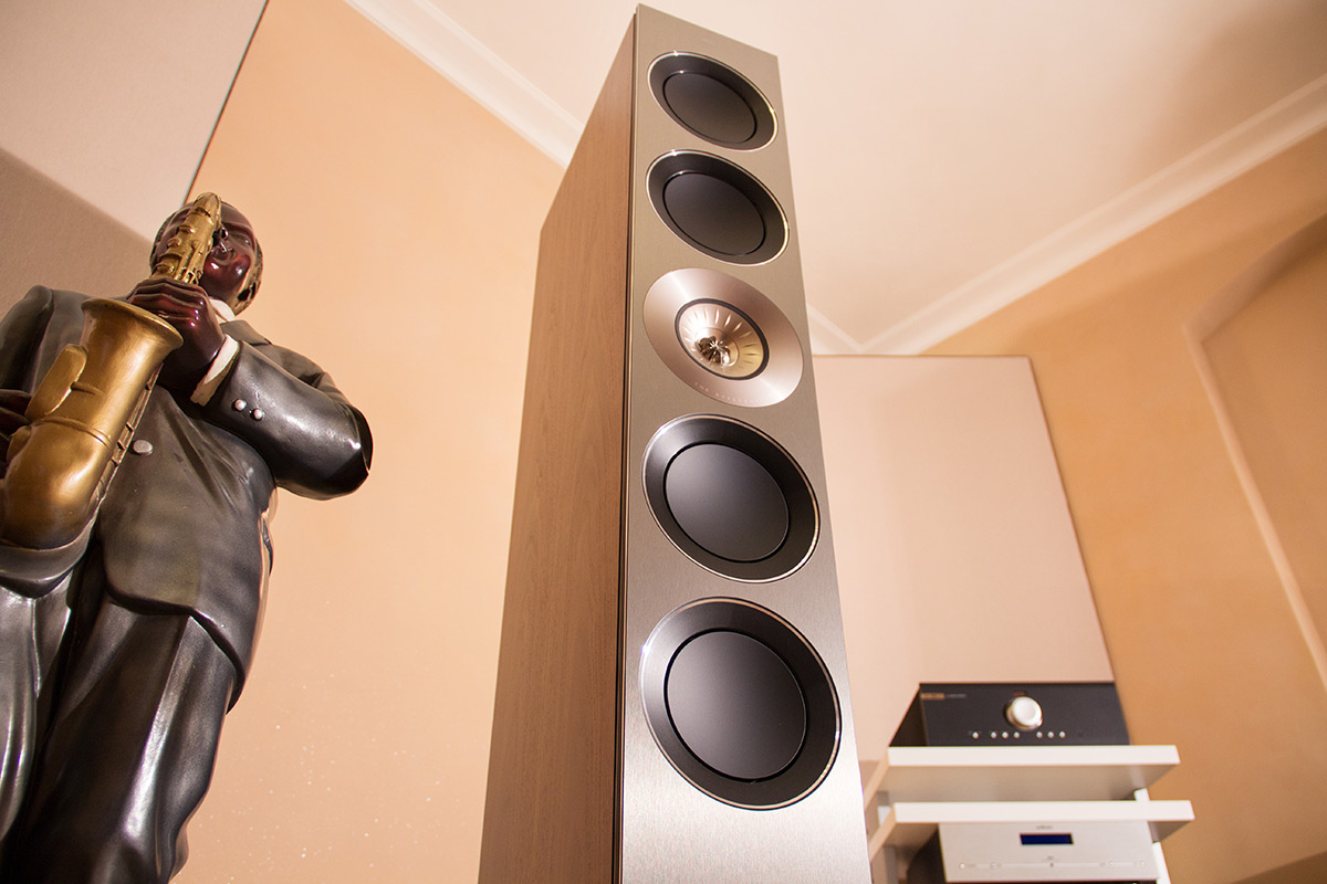 KEF Reference 5 Nahaufnahme
