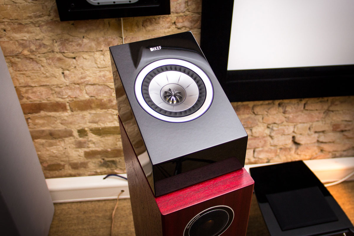 KEF R50 Dolby Atmos Modul ohne Cover