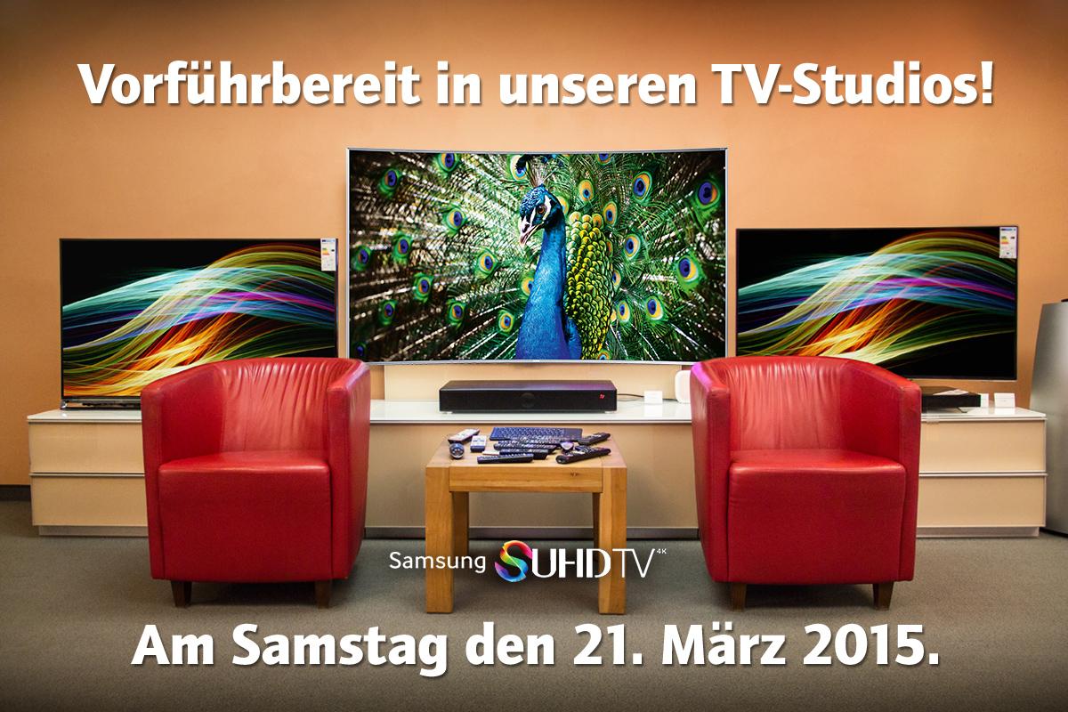 Samsung SUHD TV bei HiFi im Hinterhof