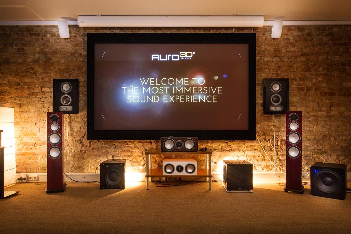 Auro 3D in unseren Heimkinostudios