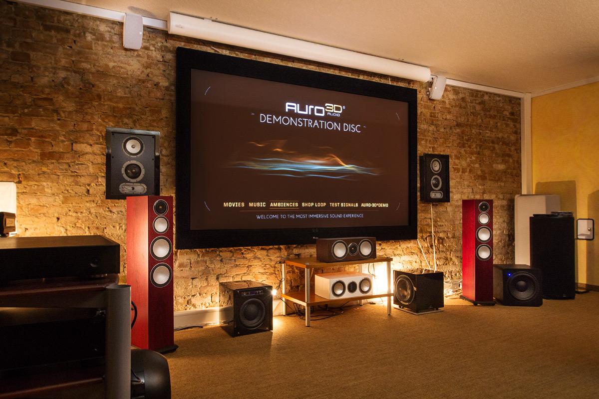 Auro 3D in unseren Heimkino-Studios
