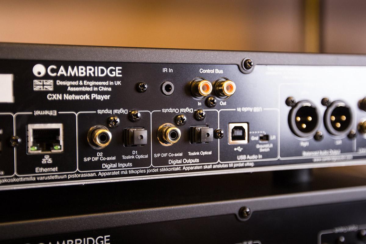 cambridge audio cx serie cx n cx c und cx a60 in unserer vorf hrung hifi and friends. Black Bedroom Furniture Sets. Home Design Ideas