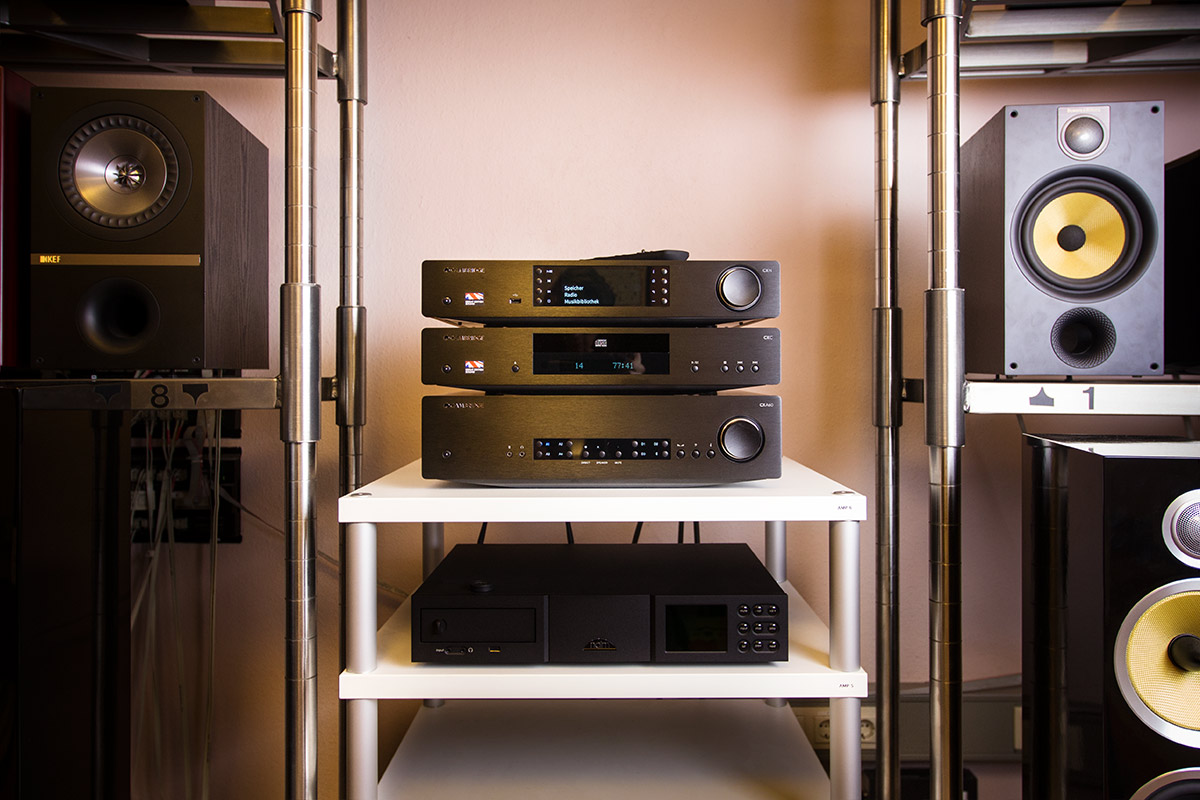 Cambridge CX N, CX C und CX A60 in unseren HiFi-Studios