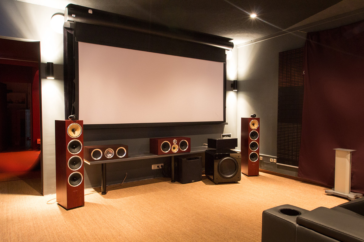 The Home Cinema Projector Screen Different Types And