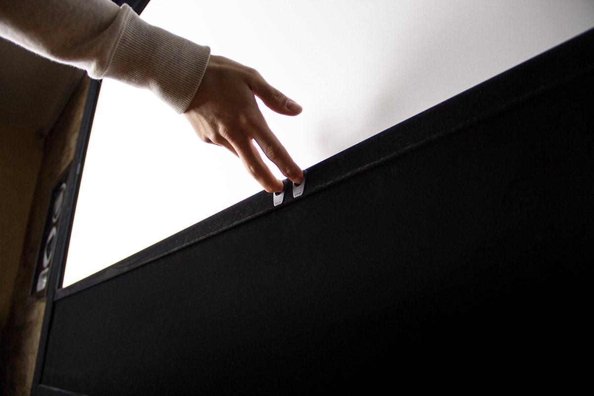 WS-Spalluto Rahmenleinwand - Einfache Anpassung der Maskierung per Hand