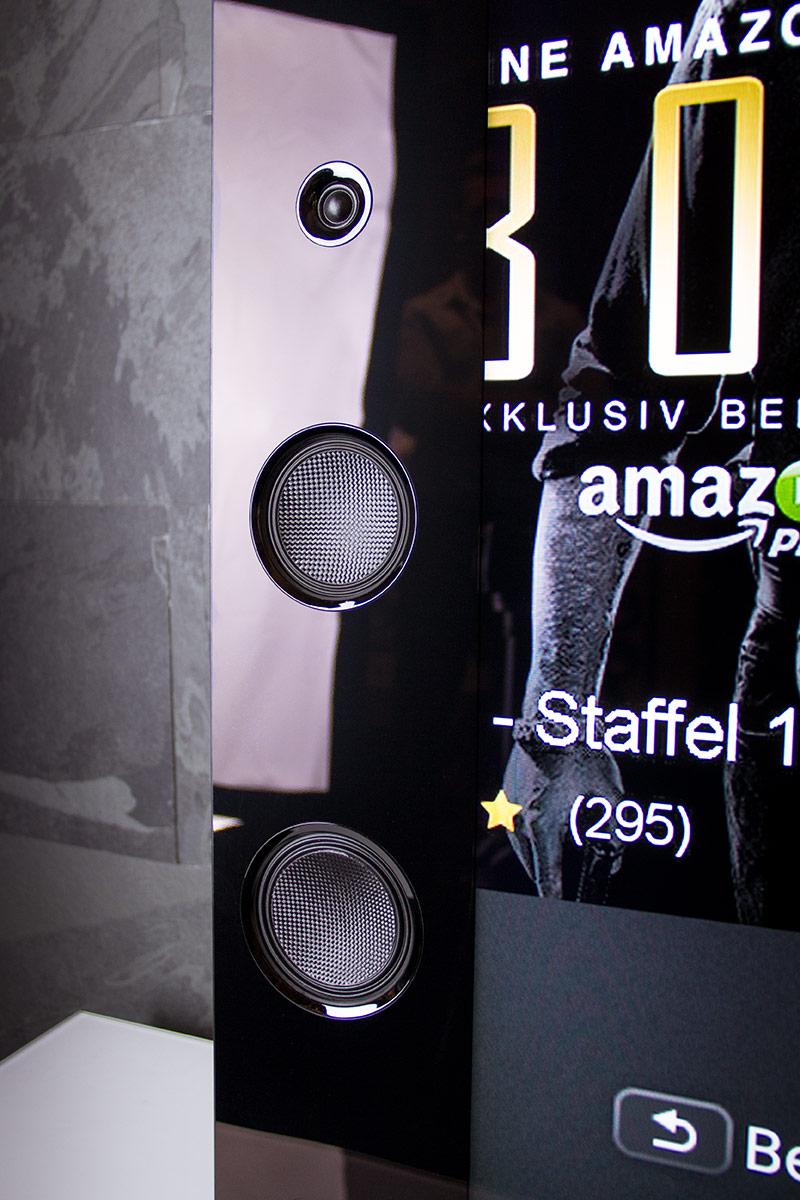 Das integrierte Soundsystem des Sony KD-75X9405C