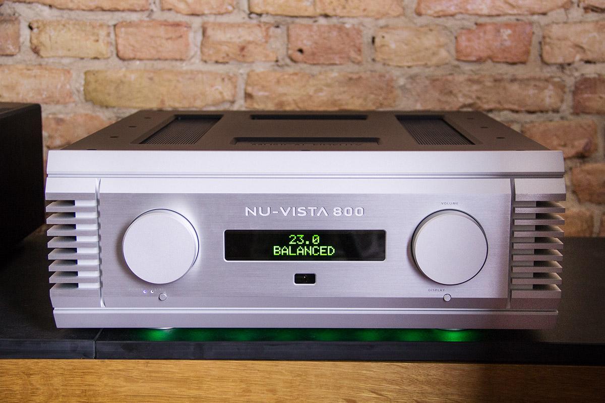 Hybridverstärker mit Raumschiffqualitäten: Der Musical Fidelity NuVista 800