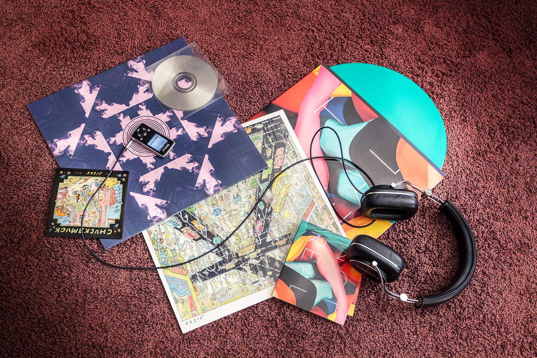 Das Test-Material des Musikexpress-Hörversuchs