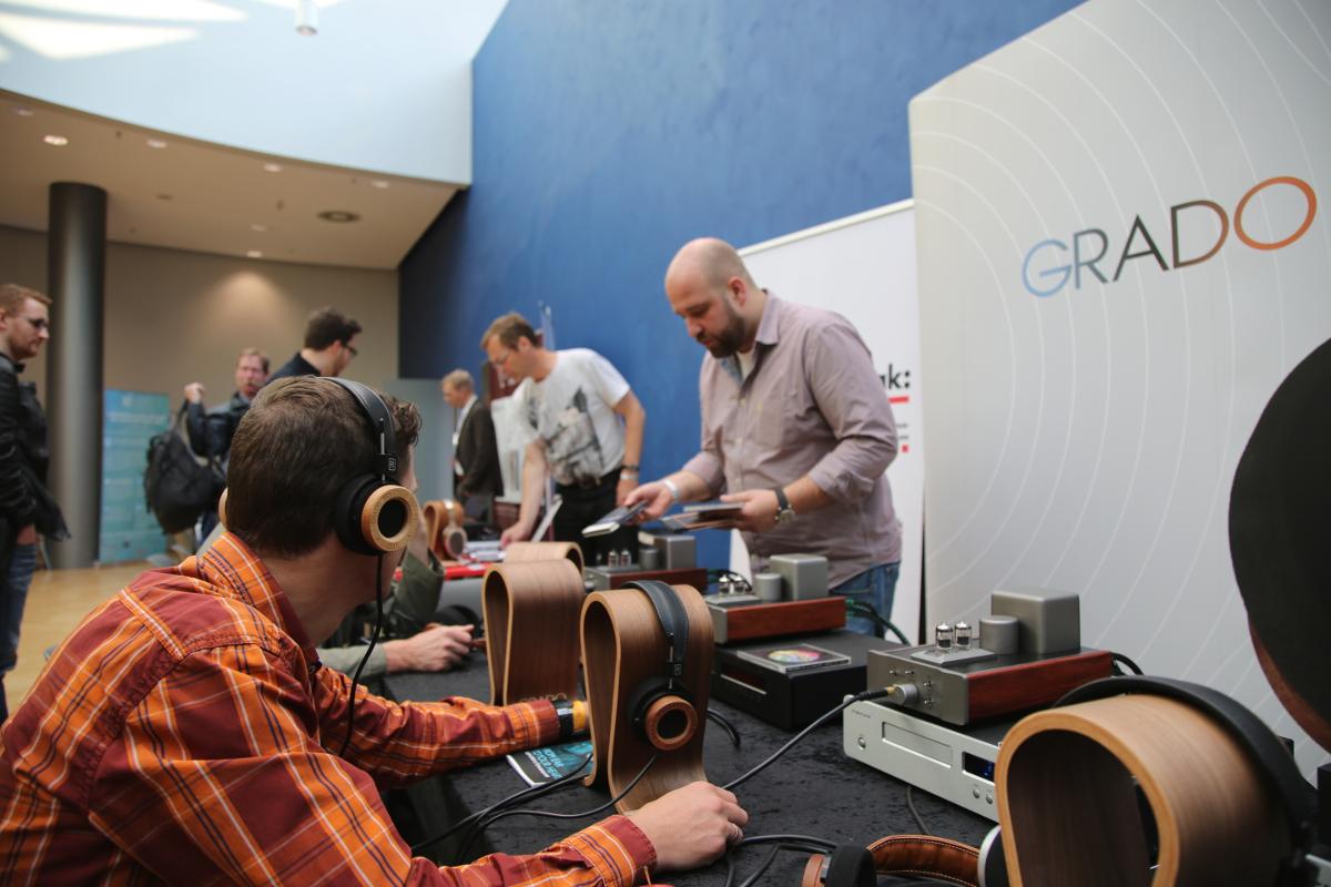 Hör-Session bei Grado