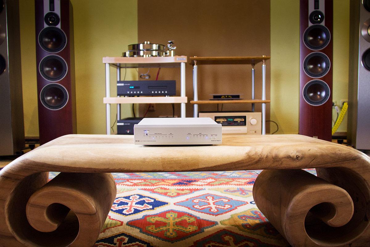 Der Musical Fidelity MX-DAC in unserem HiFi-Studio