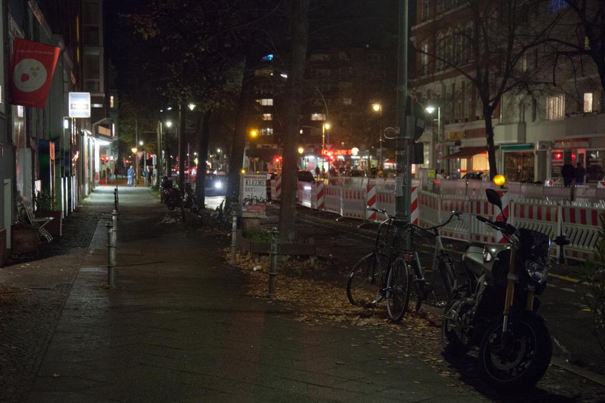 Gegen 0.00 Uhr zogen dann auch die letzten Gäste in die milde Berliner Nacht