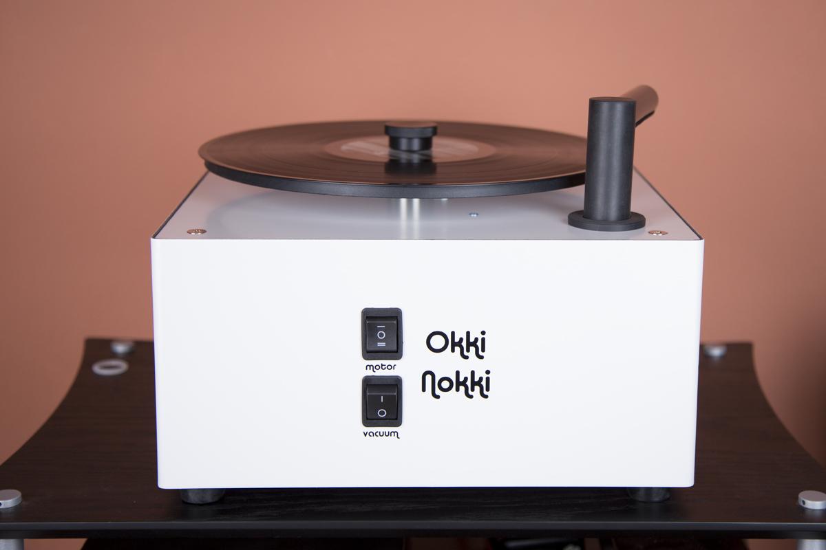 Die Okki Nokki RCM II Plattenwaschmaschine in unserer Vorführung