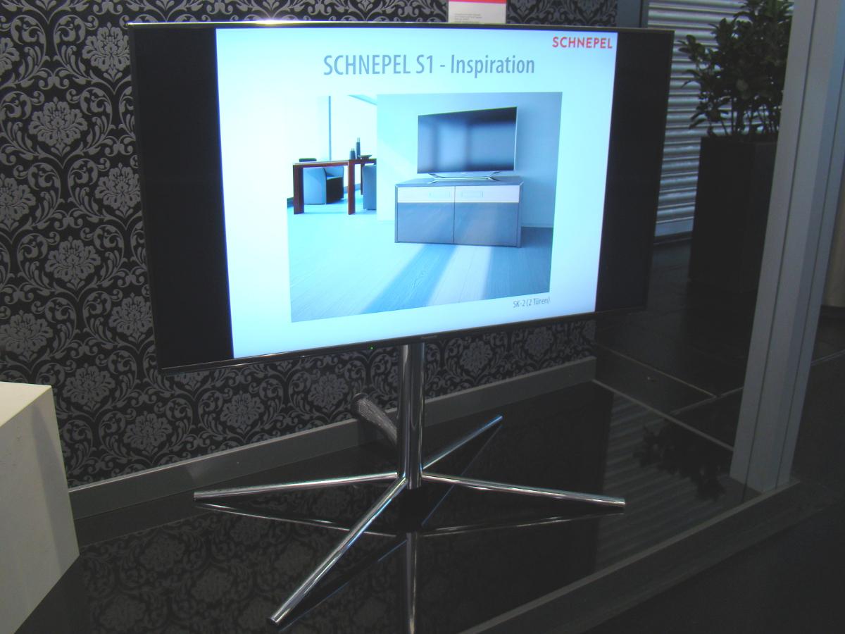 Der Schnepel S2 TV-Standfuß