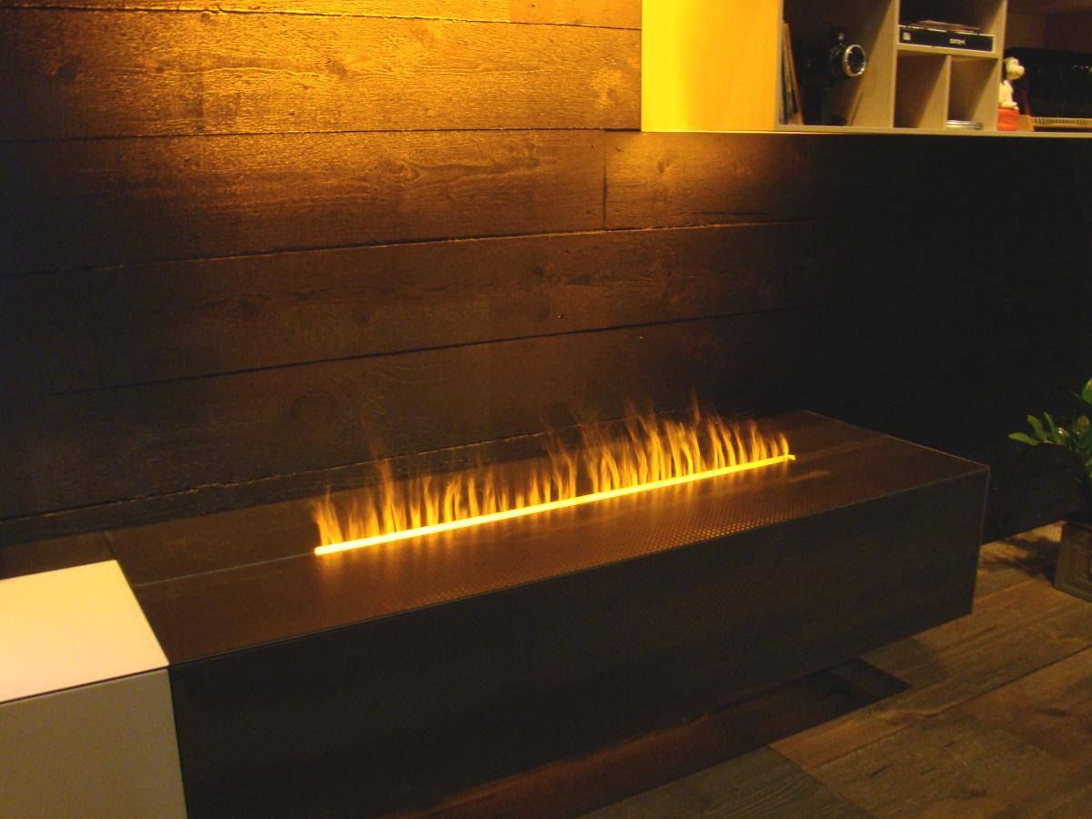 Smart Flame und LED Beleuchtung sorgen für Atmosphäre