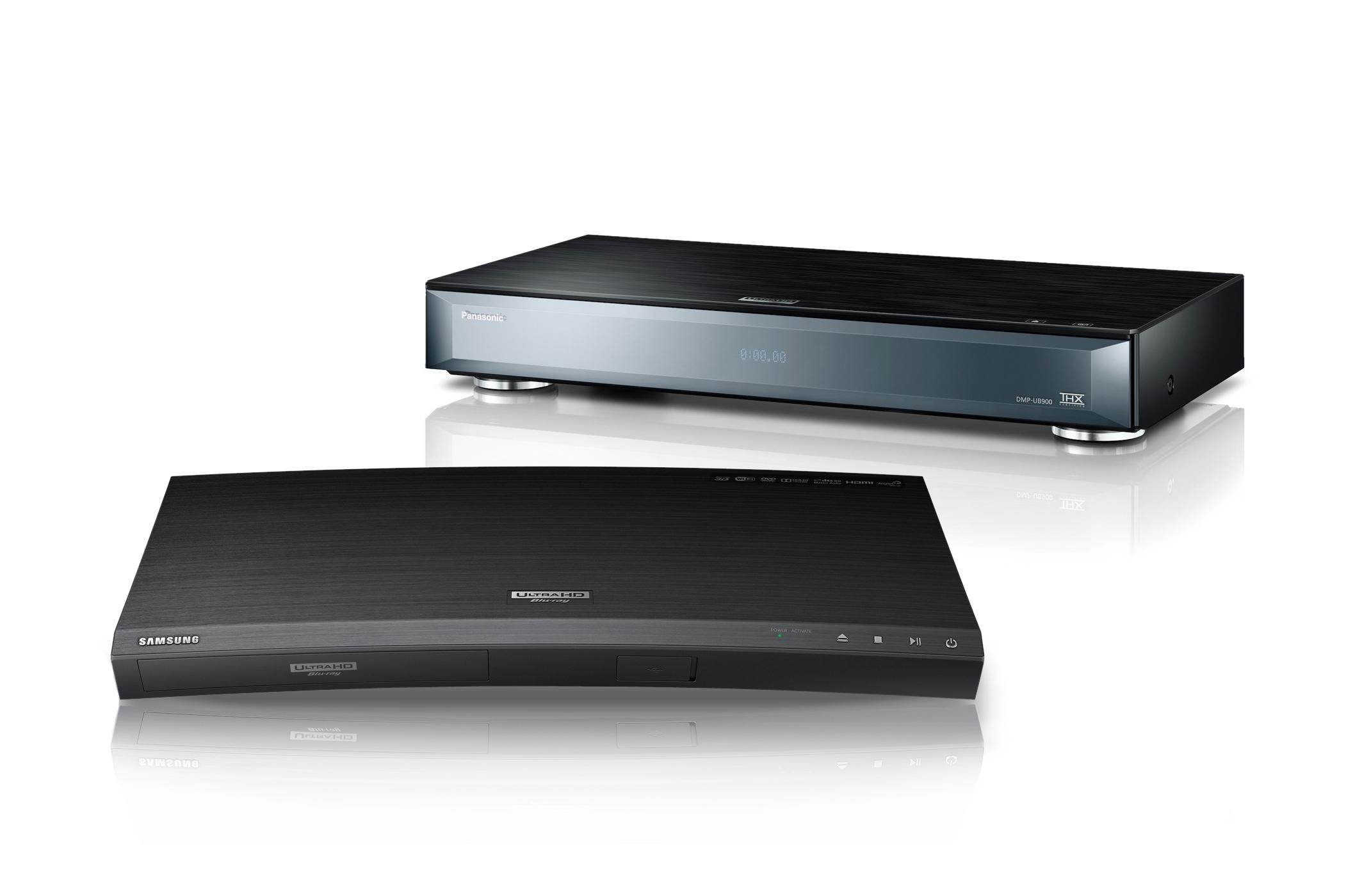 Panasonic DMP-UB900EG und Samsung UBD-K8500