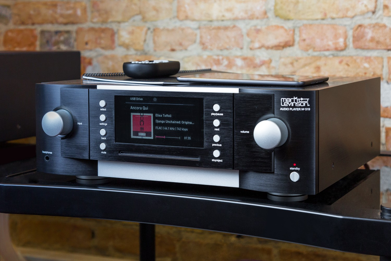 Der Mark Levinson No. 519 in Aktion
