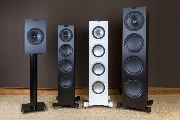 Die Lautsprecher Q350, Q550, Q750 sowie Q950