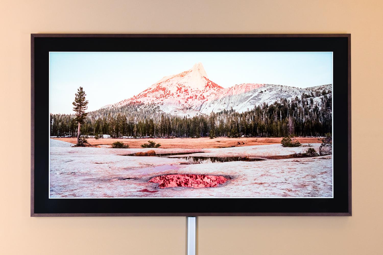 Kein Bild, sondern ein Fernseher: Der Samsung Frame TV in unserer TV-Vorführung