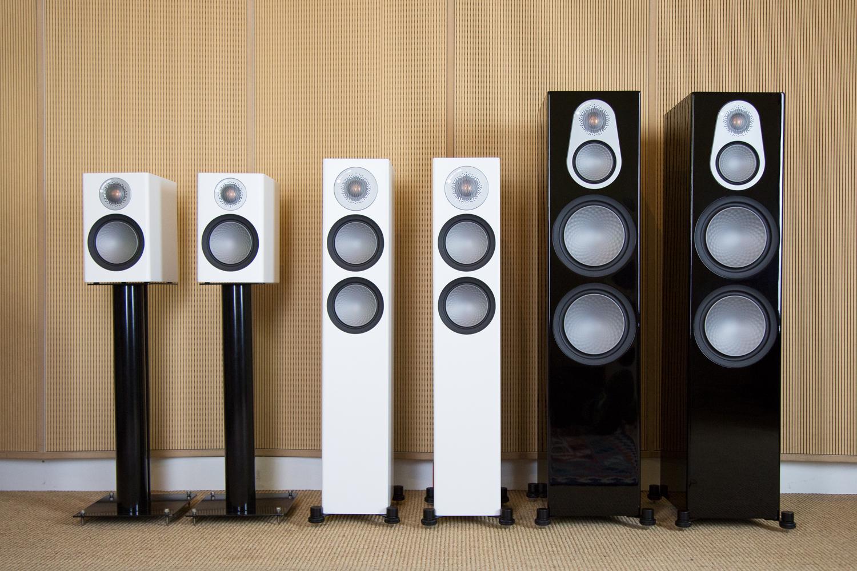 Eine Auswahl aus der neuen Monitor Audio Silver 6G Serie