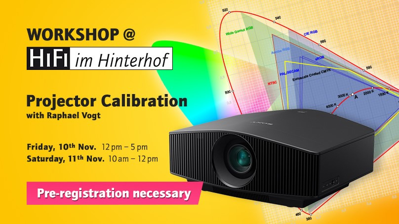 In Store Projection Calibration Workshop: November 10th